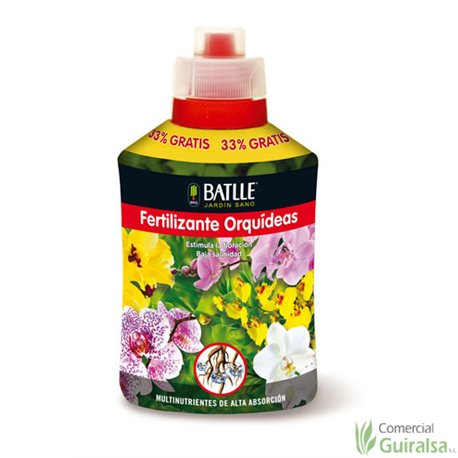 Fertilizante Orquídeas BATLLE botella 400 ml