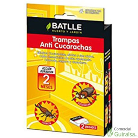 Trampa Anti Cucarachas BATLLE - Guiralsa