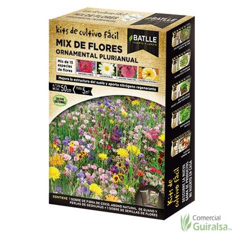 Mix de Flores BATLLE Ornamental Plurianual - Guiralsa