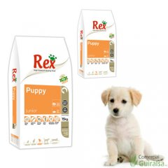 Puppy Junior Rex pienso para perros - Sacos de 3 Kg y 15 Kg