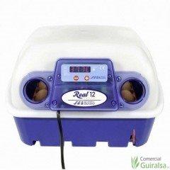 Incubadora Automática REAL capacidad 12 huevos