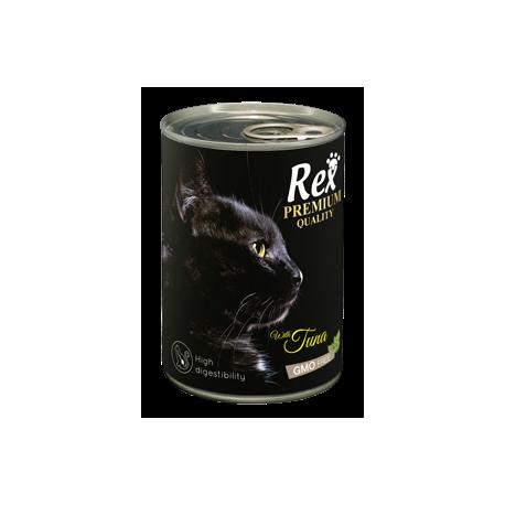 Lata Paté Atún para Gatos REX