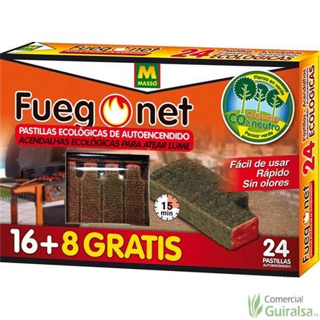 Pastillas Autoencendido Barbacoas FuegoNet
