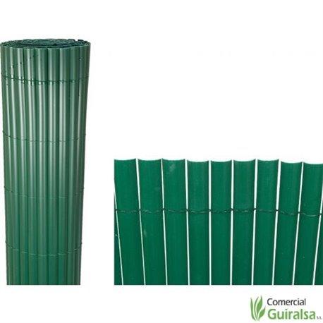 Cañizo PVC Verde Intermas rollos de 3 metros de largo