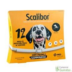 Collar Perros Scalibor Repelente Pulgas Garrapatas Leishmaniosis - Pequeño 48 cm y Grande 65 cm