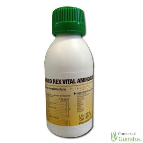 Hidro Rex Vital Aminoácidos para Aves Porcino Ovino Caprino Equino y Conejos