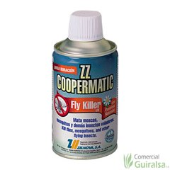 Insecticida ZZ Coopermatic Spray Fly Killer Piretrinas Naturales