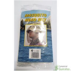 Red Antimosquitos Cabeza Mosquito Head Net