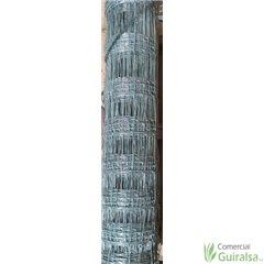 Malla Anudada Ganadera Rollos de 50 metros. Altura 1 m, 1,24 m, 1,55 m y 2 m