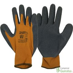 Guantes Nylon Marrón 320 Grip T-10