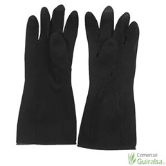 Guantes Latex Beholi Negro T-9 y T-10