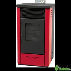 Estufa de Pellets 11 KW NBP15N color rojo Orework