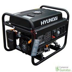 Generador de electricidad a gasolina potencia 2,5 KW HY3000F Hyundai