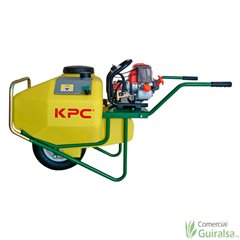 Sulfatadora de carretilla Pulverizadora a gasolina de 100 litros KPC