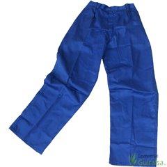 Pantalones de trabajo de tergal azul