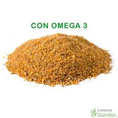 Pienso gallinas con Omega 3 en Harina marca Agroveco