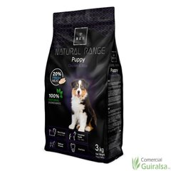 Piensos para cachorros Puppy Chicken and Rice de Natural Range 3 Kg