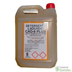 Detergente Líquido CAD-8 Plus. Envase de 5 litros