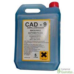 Abrillantador Maquinas Automáticas Lavavajillas CAD-9. Envase de 5 litros