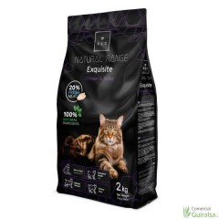 Pienso para gatos Exquisite Adult Chicken and Turkey de Rex Natural Range 2 Kg