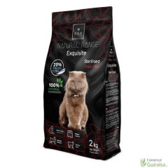 Pienso para gatos Esterilizados Sterilised Fresh Fish Rex Natural Range 2 Kg