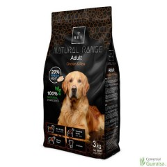 Piensos para perros Adult Chicken and Rice de Rex Natural Range 3 kg