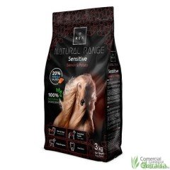 Piensos para perros Sensitive Salmon and Potato de Rex Natural Range 3 kg
