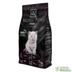 Piensos para gatitos Kitten Chicken and Rice de Rex Natural Range 1 kg