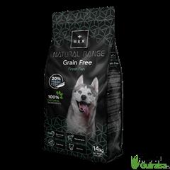 Piensos para perros Pescado Sin Cereales de Rex Natural Range Grain Free Adult 3 Kg - 14 Kg HUESCA