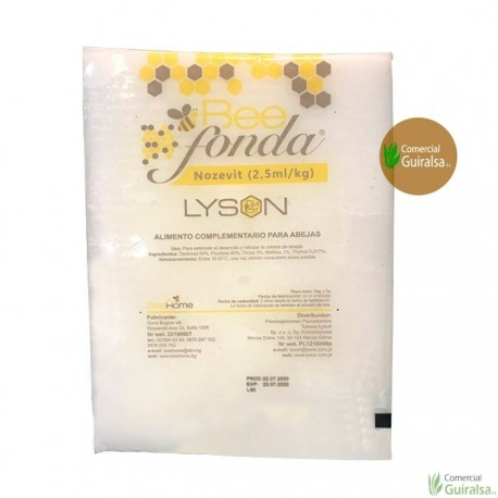 Alimento para abejas Beefonda Nozevit