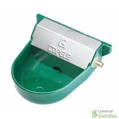Bebedero Automático P-5 para perros aluminio pintado color verde