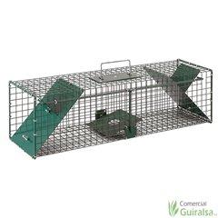 Jaula trampa para capturar ratas con 2 puertas