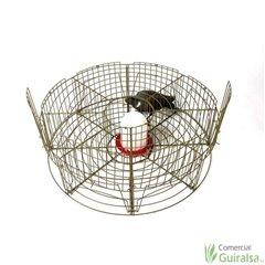 Jaula de Captura de Palomas y Aves 8 departamentos