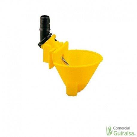 Bebedero de Cazoleta Copavi para Gallinas plástico color amarillo