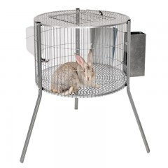 Jaula Cilindro de Conejos Machos