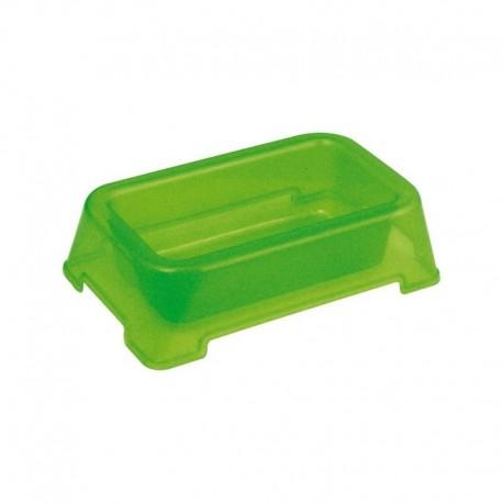 Comedero para Hámster de plástico color verde