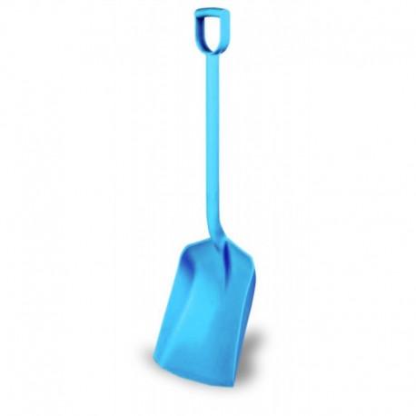 Pala con Mango modelo plástico color azul