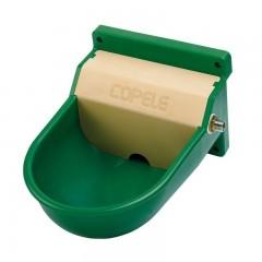 Bebedero P6 de plástico ABS para Caballos color verde