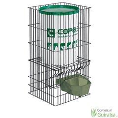 Bebedero para Animales Grandes plástico color verde con depósito