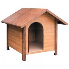 Caseta para Perros Montana color madera