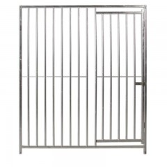 Frente de Boxes para Perros ECO con barras 8 cm y con puerta