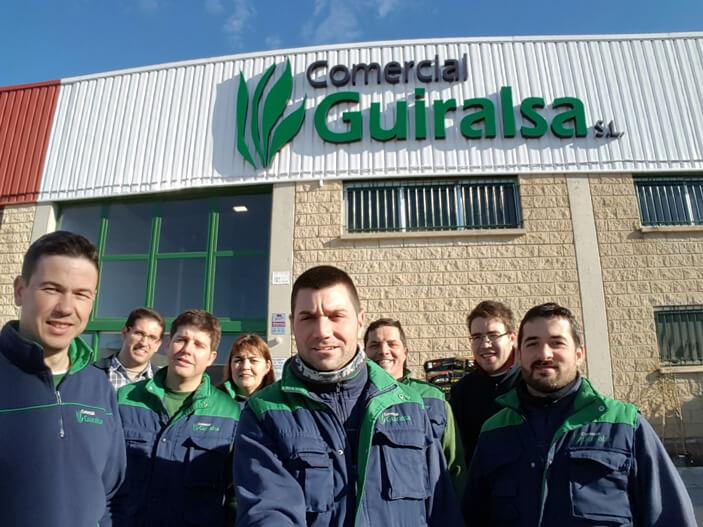 El equipo de Comercial Guiralsa 2018