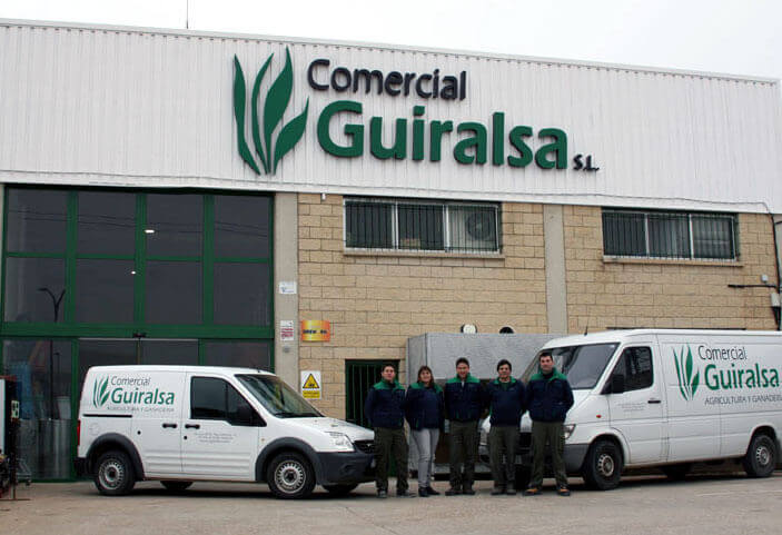Personal de Comercial Guiralsa en Huesca