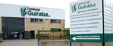 Tienda Comercial Guiralsa en Huesca